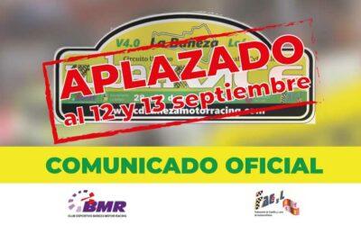Comunicado Oficial : IV Urban Race Aplazada al 12 y 13 de septiembre