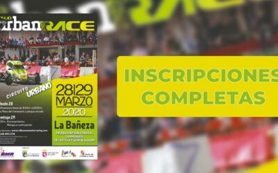 Inscripciones Completas 4.0 Urban Race